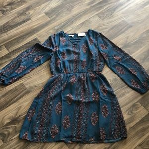 Long sleeve Maurices dress